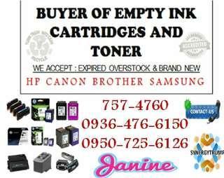 Highest Buying Price We Buy Buyer of Empty ink cartridges and Toner