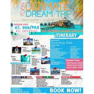7D6N ULTIMATE DREAM TRIP