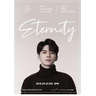 Ong Seong Wu 1st Fan Meeting Eternity Tour in Malaysia