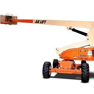 RENTAL - 60 ft Battery Boom Lift JLG E600J / JLG E600JP / JLG M600J / JLG M600JP