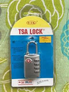 TSA lock at only SGD11 (retail price:13.90)