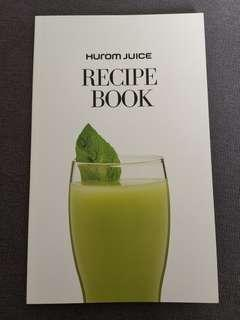 Hurom Juice Recipe Book Korea version