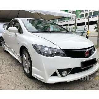 2009 Honda Civic 1.8 S (A) Facelift One Owner Mugen RR Leather Seat
