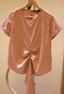 Shop At Velvet - Luella Bow Top in Pink x Michelle Koesnadi