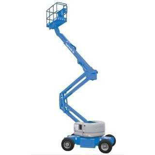 RENTAL - 45 ft Battery Boom Lift Genie Z45/25