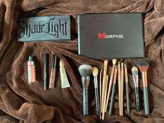 Kat Von D, MORPHE, Sigma, Urban Decay make up