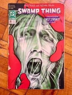 Vintage 1988 DC Comics Swampthing