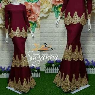 🚚 Suzanna exclusive kurung