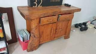 🚚 Console Side Table Solid wood