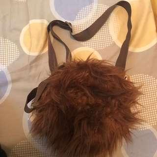 全新日本迪士尼大鼻與鋼牙Tsum Tsum 袋 Japan Disney Store Chip and Dale Tsum Tsum sling bag