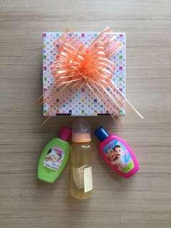 REDUCED! OKBB baby gift set (3 pieces)