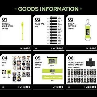NCT OFFICIAL MERCH AND GOODS