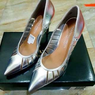 High Heels Payless Silver