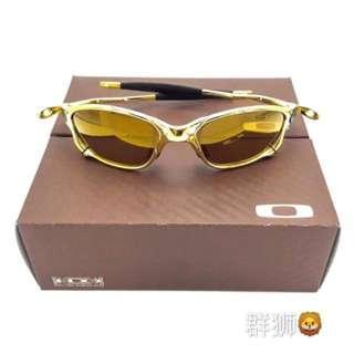 Oakley Juliet 2 24k Polarized Sunglasses CM044