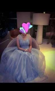 Blue Gown for Rent only