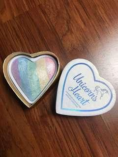 I heart makeup unicorn's heart