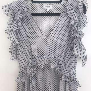 Seed spotted maxi size 10