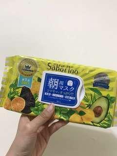 🚚 日本帶回Saborino早安面膜