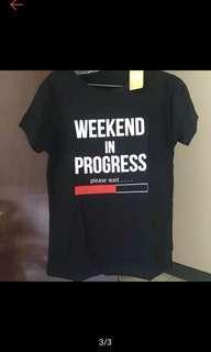 Kaos tshirt black