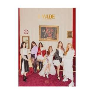 (G)-IDLE - I MADE 2nd Mini Album with poster