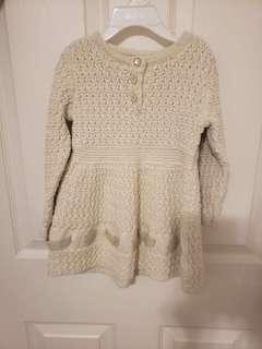 Baby girl sweater dress