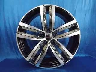 Model Velg JZ17 Hsr Ring 20x8 Hole 5x114,3 ET 45 BMF-BCI