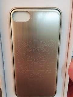 🚚 全新正貨現貨 Kenzo 虎頭 i8 iPhone 金色全包手機殼 手機保護套 kenzo鋁套 4.7手機套 黃金色