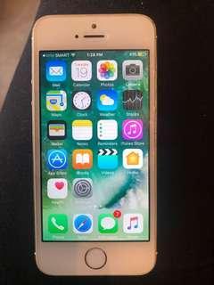 Iphone 5s Gold Smart Locked