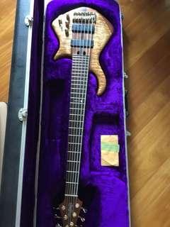 Warrior bass guitar 6 strings