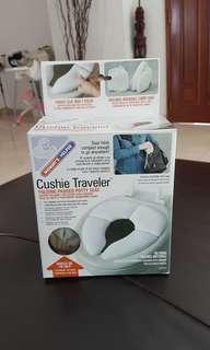 Cushie Traveler, folding padded potty seat