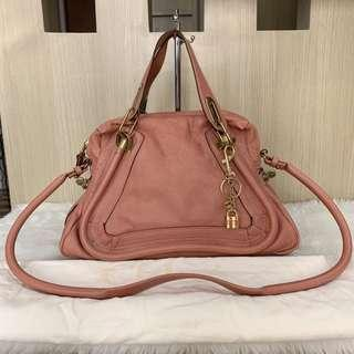 Authentic chloè paraty medium size