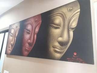 🚚 Buddha Sand Painting all the way from BALI