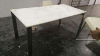 A marble Dining Table