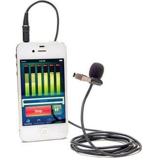 Azden i-Coustics EX-503i Lavalier Microphone For Smartphones And Tablets