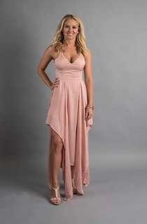 Rose Gold Ball Dress