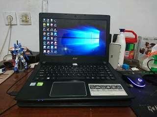 Gaming Laptop Acer Aspire. E5-475G i5 Gen 7th