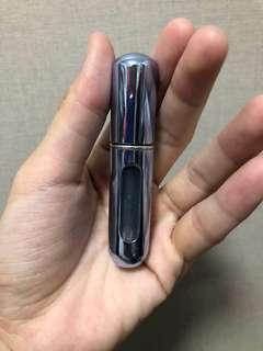 Travel perfume container atomizer spray