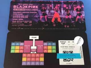 WTS BLACKPINK PURPLE ZONE DAY 2 TIX