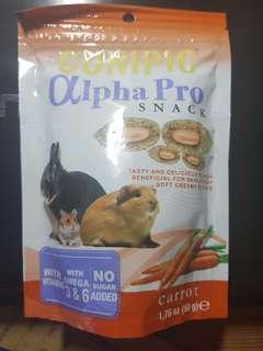 Cunipic alpha pro snack for rabbits guinea pig hamster