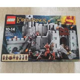 Lego Lord of The Rings 9474 - The Battle of Helm's Deep MISB