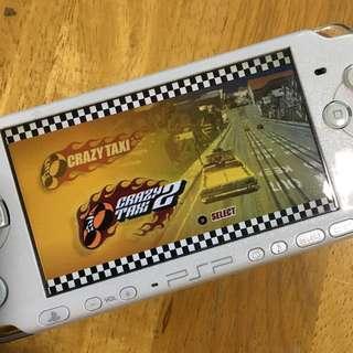 PSP 美版 瘋狂計程車 收費大戰 1+2 合輯 二手 無盒