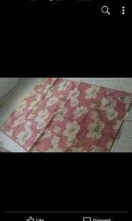 Carpet, overlay, hard bed cover, alas pelbagai guna