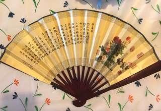 Chinoiserie fan RRP $39