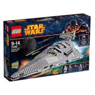 Lego Star Wars Imperial Star Destroyer 75055 MISB
