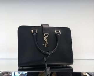 YSL CABAS SMALL AUTHENTIC BLACK MONOGRAM
