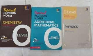 O level Pure science & Amaths notes