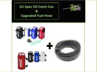 Special Offer ! D1 Spec Oil Catch Can with Upgraded hose and Installation