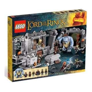 Lego Lord Of The Rings 9473 The Mines Of Moria New