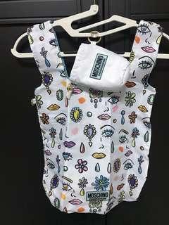 🚚 精品購物袋 MOSCHINO 很輕 還有外包裝唷
