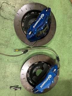 Citroen C5 6 pot brake kit